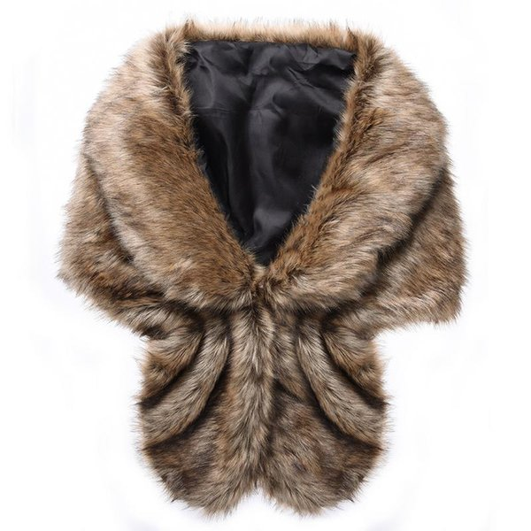 Women Ladies Fashionable Faux Fur Vest Jacket Sleeveless V-Neck Winter Body Thick Warm Short Coat Waistcoat Female Vest One Size