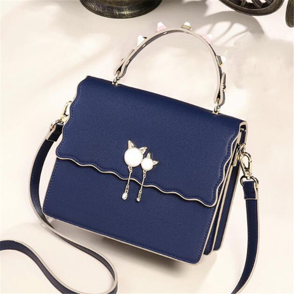 famos shoulder bags women brand luxury real leather chain crossbody bag handbags famous kitten designer purse high quality female crossbag
