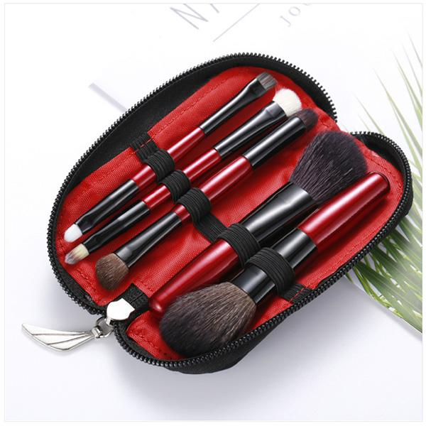Red Brush Set