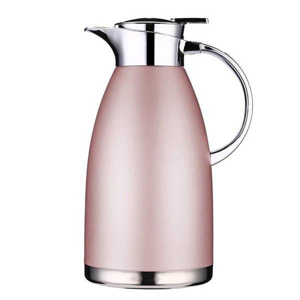 Isolations-Topf-Edelstahl-thermische Kaffee-Karaffe 2.3L große Kapazität Wärmflasche walled Vakuum Thermos Kaffee Milch Teekanne