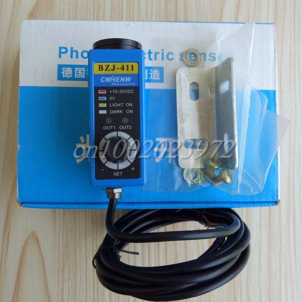 BZJ-411 ( Green Light) Color Code Sensor Bag Making Machine Photoelectric Sensor 10-30VDC
