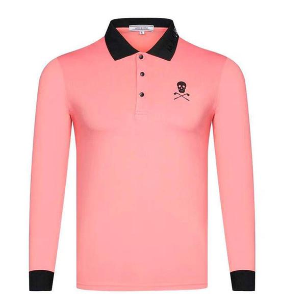 top popular 2019 New Men clothes Sports Golf Shirt Latest Spring summer MARK&LONA Golf sports shirt Full Sleeves Sports Golf T-Shirt Free shipping 2019
