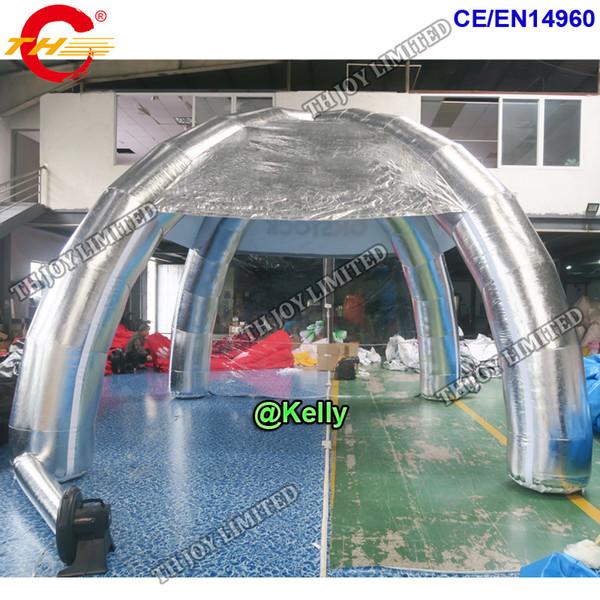 Tenda gonfiabile del baldacchino del ragno gonfiabile di trasporto della porta libera da vendere, tenda all'aperto gonfiabile per gli eventi, tende della cupola di pubblicità