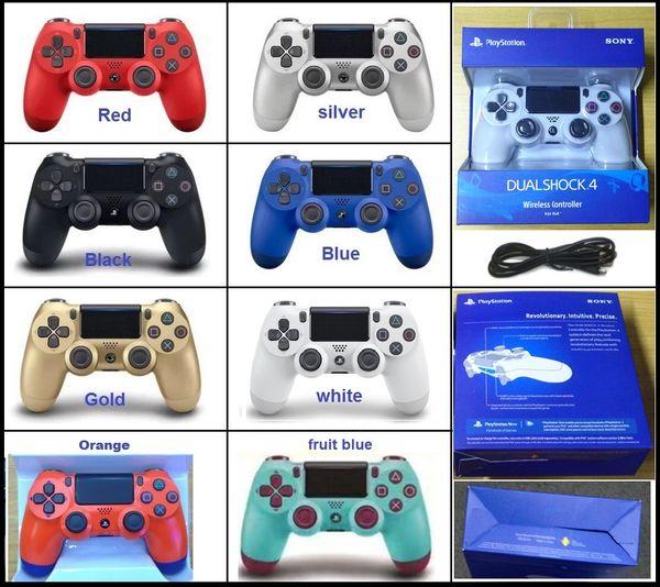 PS4 Wireless Game Controller per PlayStation 4 PS4 Game Controller Gamepad Joystick Joypad per videogiochi DHL spedizione gratuita