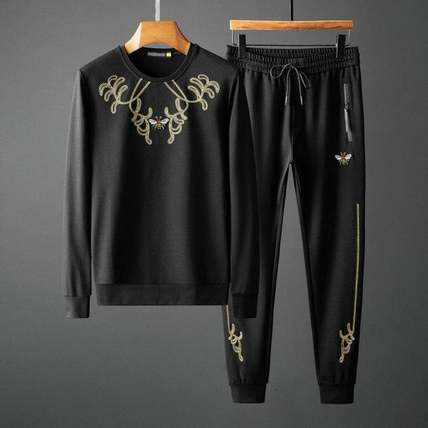 Fashion Designer Tracksuit Spring Autumn Casual Unisex Sportswear Mens Track Suits High Quality Hoodies Mens Clothing 90222
