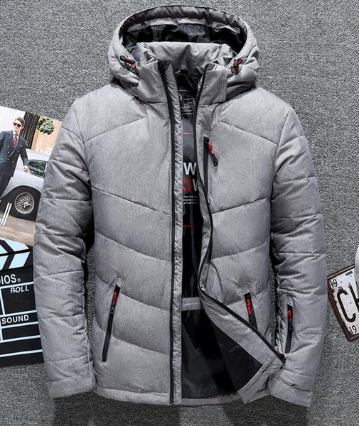 New The North Men's clothing Winter Jackets Parka Warm Goose Down Coats keep warm thick outdoor outerwear jackets 900