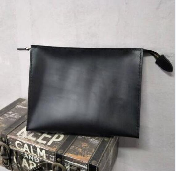 Hag / old flower / rectangular handbag women travel makeup bag new designer high quality men wash bag cosmetic bags with dust bag