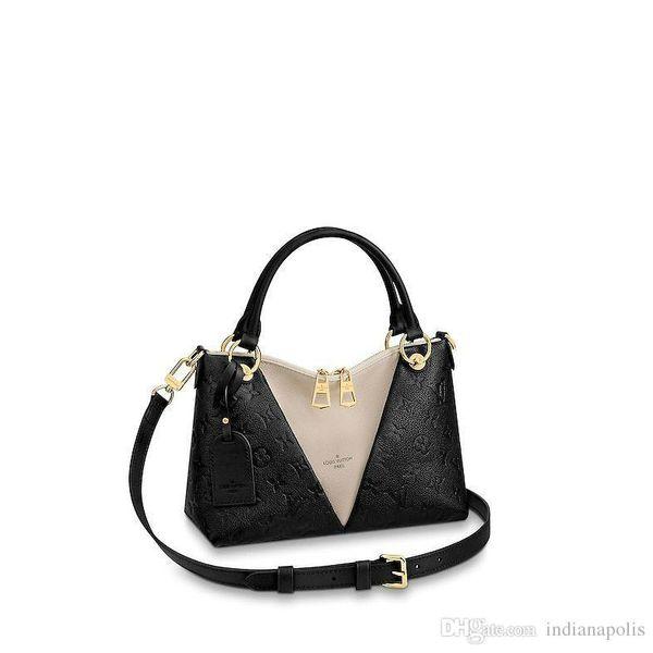Designer de luxo bolsas Monogram Empreinte Bolsa De Couro Todas As Bolsas V Tote MM mochila carteira bolsas bolsas de ombro desconto
