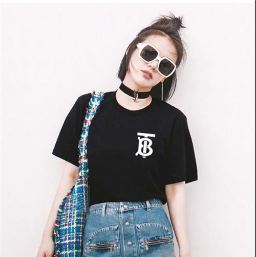 2019 ladies fashion cotton loose-fitting T-shirt, stylish all-in-one comfort, standard size, free shipping