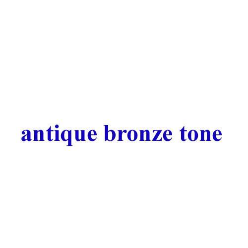 Color:antique bronze tone