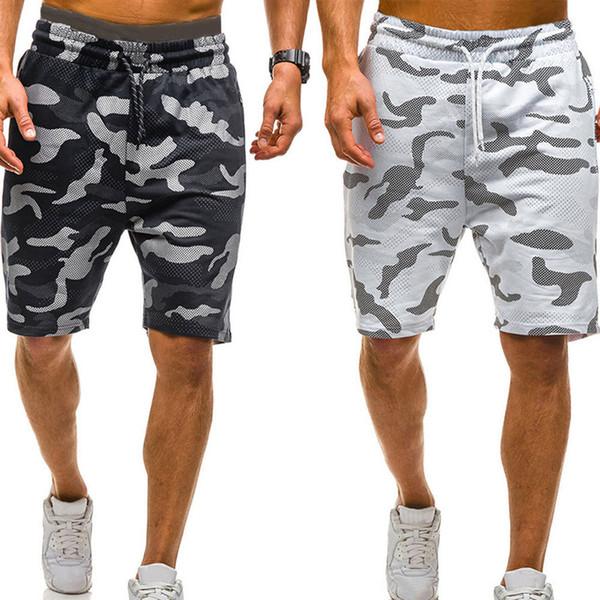 2019 Novos Homens Camuflagem Shorts Casual Masculino Venda Quente Militar Carga Shorts Na Altura Do Joelho Mens Verão Calças Curtas Pantalon Homme #