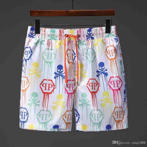 Nueva marca 2019 Pantalones cortos para hombres, Verano, playboy, edición especial, Traje de baño, Bermudas, Cráneo masculino, Surf Life Men, traje de baño de secado rápido, 13