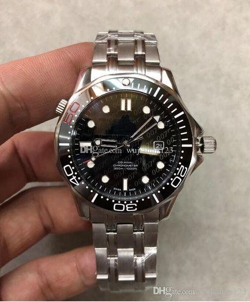 Reloj de hombre caliente 600 SEA 212.30.41.20.01.005 matser 41MM marcar James Bond 007 relojes automáticos mecánicos con correa original.
