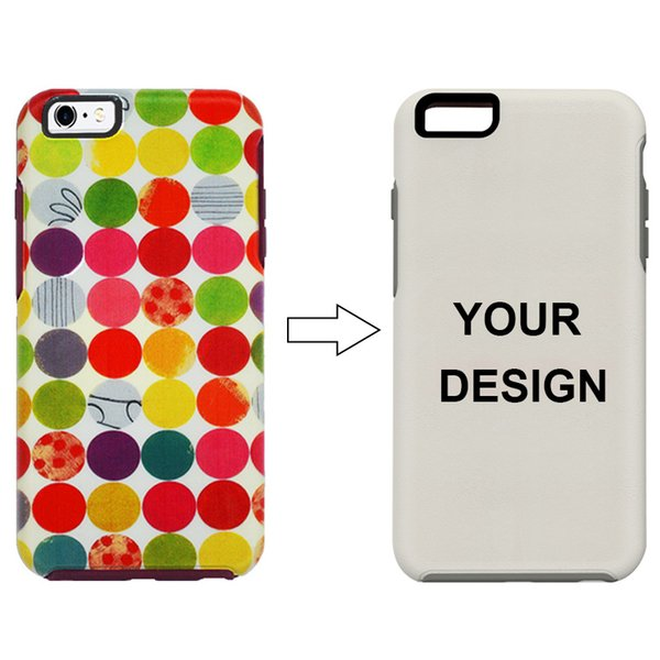 50pcs Personalized Custom Picture Case for iPhone X XR 7 Plus Case Make Your Own Phone Case