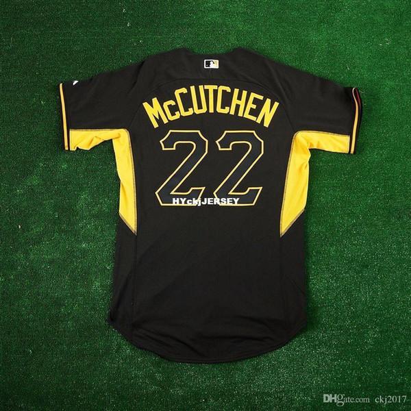 MAJESTIC Cheap #22 LG mccutchen PITTSBURGH BP COOLBASE Jersey Mens Stitched Wholesale Big And Tall SIZE XS-6XL baseball jerseys