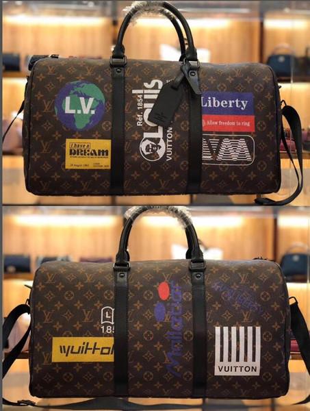 as mulheres novas dos homens da forma viajam saco de duffle do saco, saco do esporte da capacidade das grandes bolsas da bagagem do desenhista