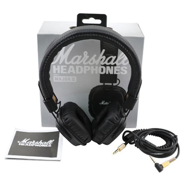 Marshall Major II Wired Headphones Headset Deep Bass Hi-Fi Earphones 3.5mm Professional DJ With Mic Noise Cancelling Headphones