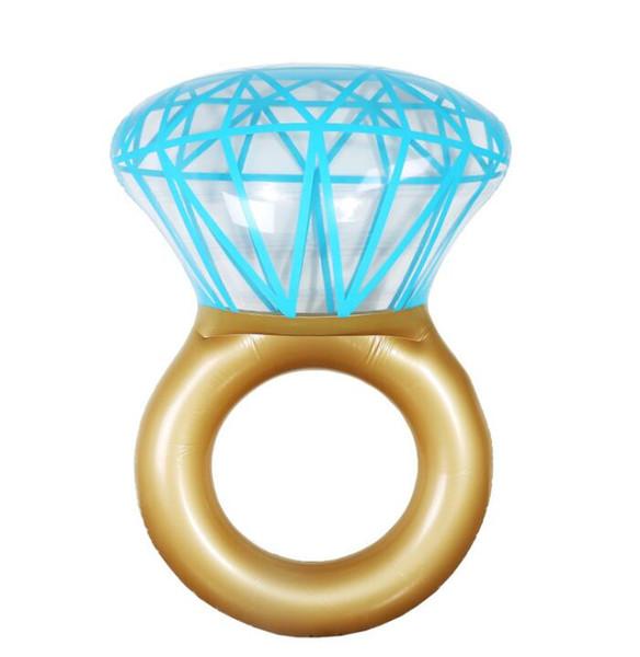 Nuovo Giant Diamond Ring gonfiabile materasso nuoto piscina cerchio galleggiante nuotare partito giocattolo tubo zattera per adulti uomini donne bambini