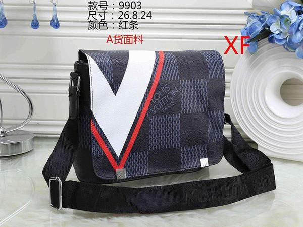 Neue Männer Cross Body Handtasche Aktentasche Laptop Umhängetasche Umhängetasche Männliche Desginer Handtaschen Geldbörsen Taschen