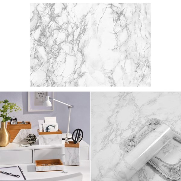 2Pieces Marble Contact Paper Wall Paper For Bathroom Table Decoration Arts Marble Adhesive Paper,Self Adhesive Film ,Self Adhesive Decal Murals,Vinyl Wall Decals , Peel and Stick Wallpaper