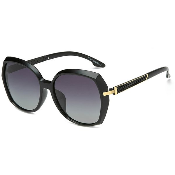 New men's and women's high-end polarized sunglasses retro square sunglasses classic driving glasses 5 color optional with original box gift