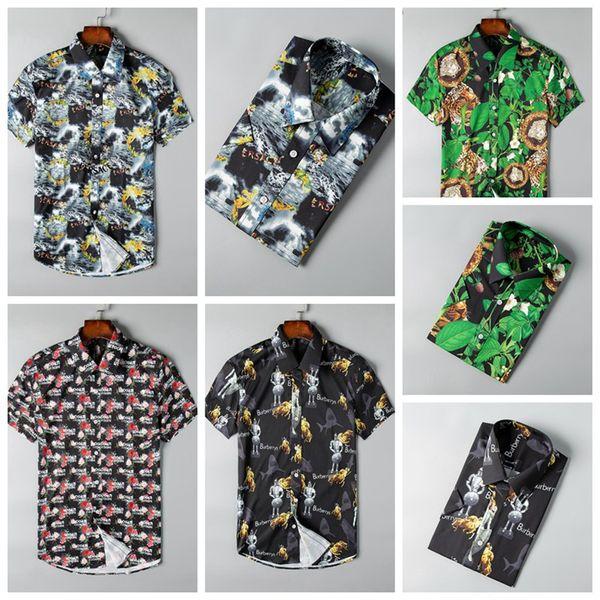 2019 marke männer business casual shirt männer langarm gestreift slim fit masculina sozialen männlichen t-shirts neue mode mann überprüft shirt-q5