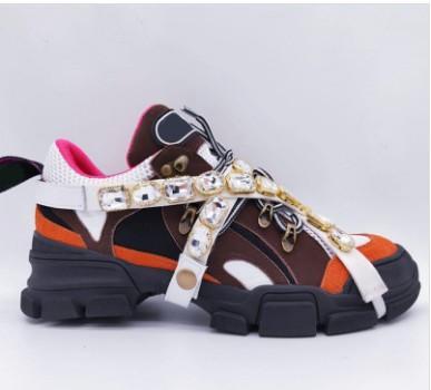 La migliore sneaker di Fashion Designer Sneaker da donna con scarpa rimovibile da donna. Scarpe da arrampicata da montagna. Scarpe da trekking da uomo
