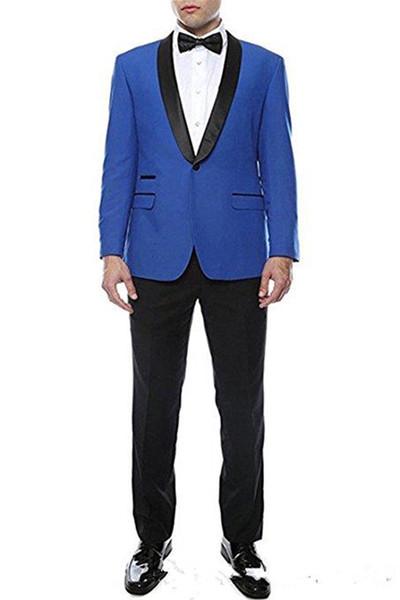 Nuovi economici e fini scialle bavero sposi one button smoking dello sposo abiti da uomo matrimonio / ballo / cena miglior uomo giacca (giacca + pantaloni + cravatta) 226