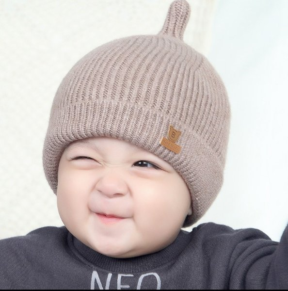 2893db557 2019 South Korea Autumn And Winter Neonatal Hat Girls Wool Hat Boys Babies  Winter Knitting Hat Tide From Donna0824, $30.46 | DHgate.Com