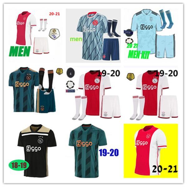 2020 Ajax Fc Soccer Jersey 50th 2020 2021 Promes Van De Beek David Neres Tadic Ziyech Ajax Football Shirts Men Kids Kit Buy At The Price Of 16 15 In Dhgate Com Imall Com