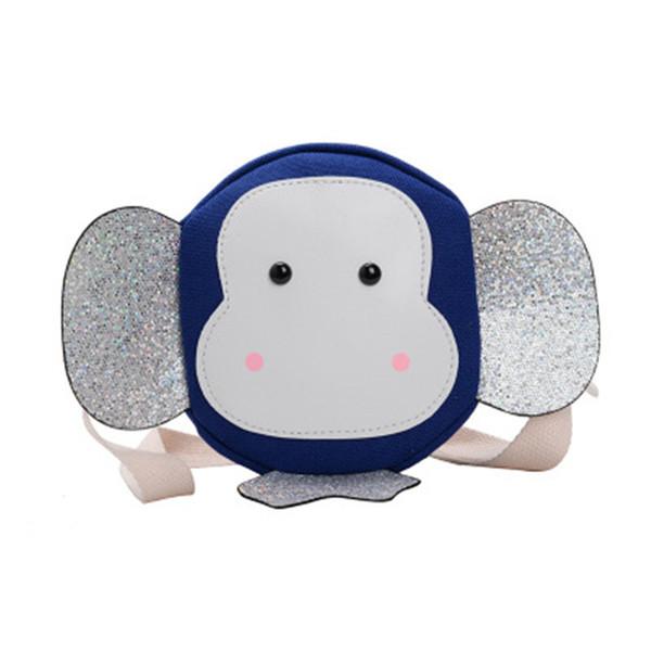 2019 New Kids Accessoires Sacs à bandoulière Sacs à main tout-petits Cartoon Sacs à main enfants filles Mini sac à bandoulière Sequin Big oreilles