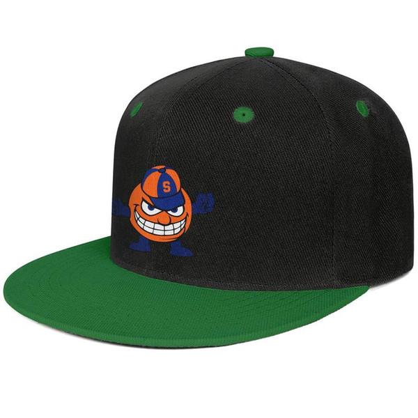 Equipado homens e mulheres viseira Syracuse Laranja basquete logotipo bill plano Hip Hop Snapbacks chapéus Ajustável Se encaixa pai chapéus
