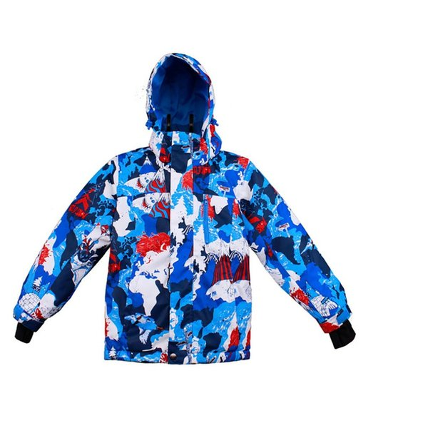 2018 New Outdoor Ski Suit For Children Wind Proof Waterproof Warm Breathable And Moisture Permeable Ski Suits