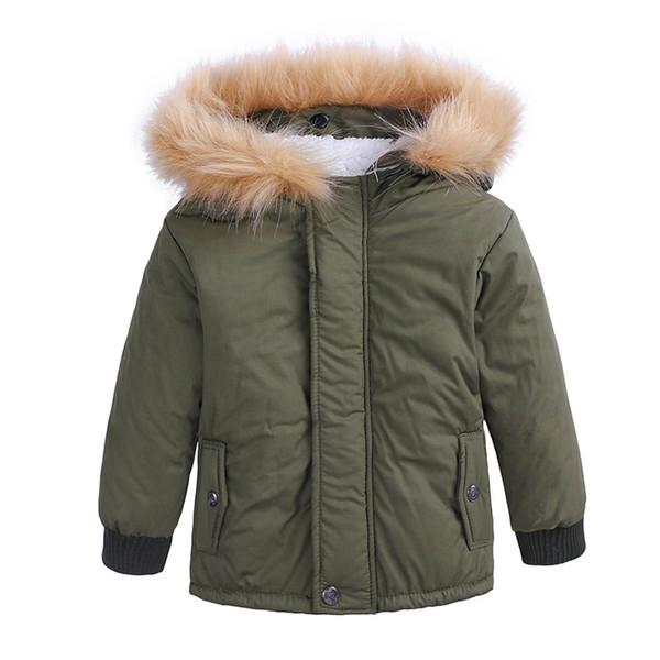 Baby Boy Clothes Kids Snowsuits Winter Cotton Parka Kids Coats Boys Winter Zipper Jacket for Boy Warm Children Clothes Fashion