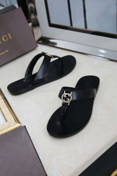 Elegant Flip Flops For Women Genuine Leather And Exquisite Women's Fashion Sandals Soft And Comfortable Genuine Leather Slippers
