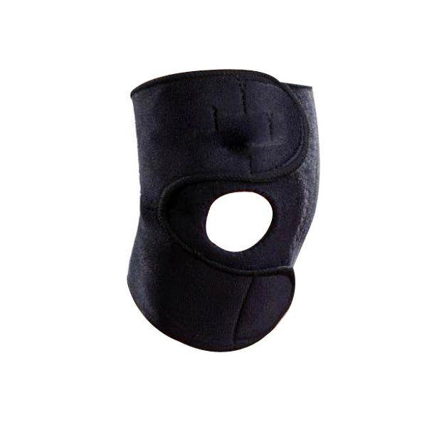 Sports Leg Knee Support Brace Wrap Protector Pads Sleeve Cap Patella Guard One Size Black B2C Shop #495971