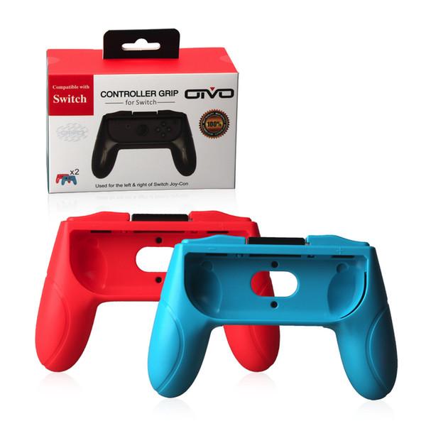top popular 2pcs set ABS Joystick Grip Handle Joypad Stand Holder for Nintend Switch Left Right Joy-Con Joycon NS Controller 2019