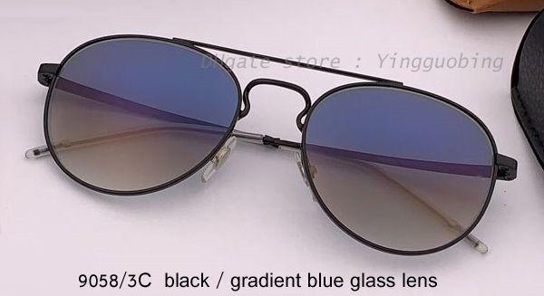 9058 / 3C siyah / gradyan mavi lens