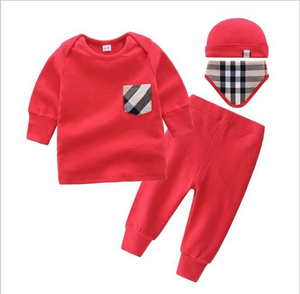 6e7f779ce15 2019 2019 New Baby Fur Collar Fashion Children Siamese Long Sleeved Garment  Hooded Children'S Suits Ha Clothes Climbing Clothes 3 12M From ...