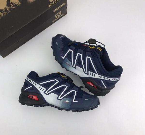 Compre Salomon Speed Cross Speedcross 3 De Deporte Para Niños Baratas  Zapatos Hombre Speed Cross 3CS III Zapatillas Deportivas Para Niños  Pequeños ...