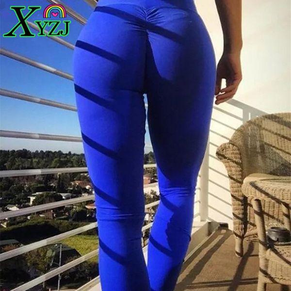 Leggings Sport Femmes Haute Qualité Chaude Yoga Pantalon Fitness Push Up Leggings Taille Haute Collants Élastique Gym Running Pantalon De Yoga Pantalon Sexy
