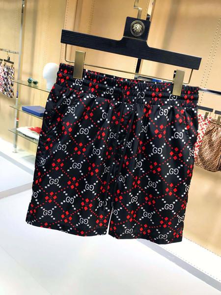Pantalon de survêtement en tissu imperméable A2019 Pantalons de plage d'été Shorts de surf pour hommes Shorts de surf pour hommes Maillots de bain Shorts de sport