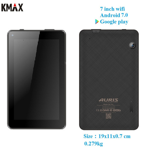 KMAX 7 inch wifi android 7.0 tablet pc Quad core IPS TF Card keyboard case mini pad gps bluetooth 8 9 10 10.1 googlepay kids