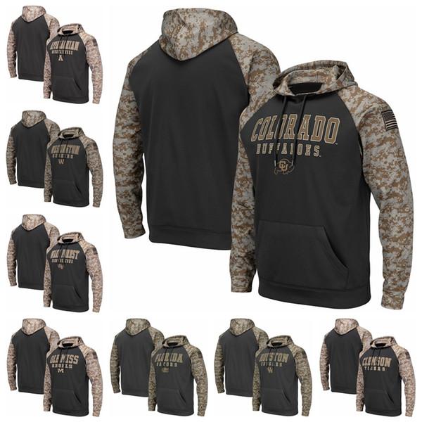 Neues Sweatshirt Appalachian State Mountaineers Clemson Tiger Colorado Buffaloes Florida Alligatoren Colosseum United Wir stehen Pullover Hoodies