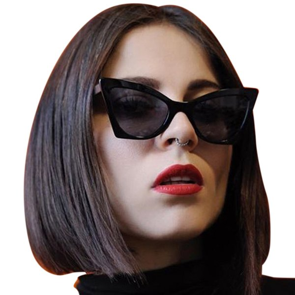 Fashion Cat Eye Sunglasses Women Retro Brand Oversized Sun Glasses 2019 Vintage Ladies Cateye Sunglass UV400 Shades Eyewear