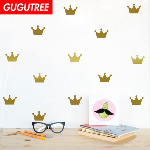Decorate Home crown cartoon art wall sticker decoration Decals mural painting Removable Decor Wallpaper G-1584