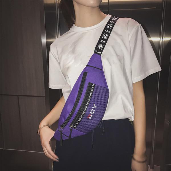 Venta caliente Moda Neutral Sport Fitness Bag Multifunción Tote Bolsas de Gimnasio Para Al Aire Libre Cremallera de Lona Deporte Bolsa de Cintura