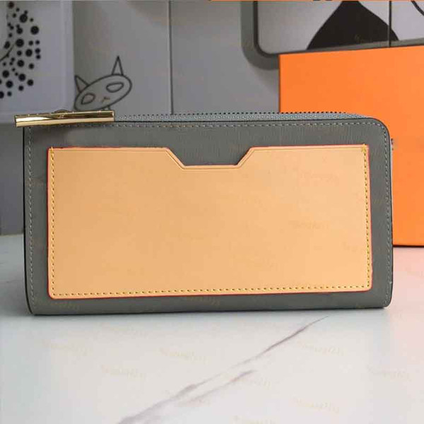 Grey-Zipper wallet