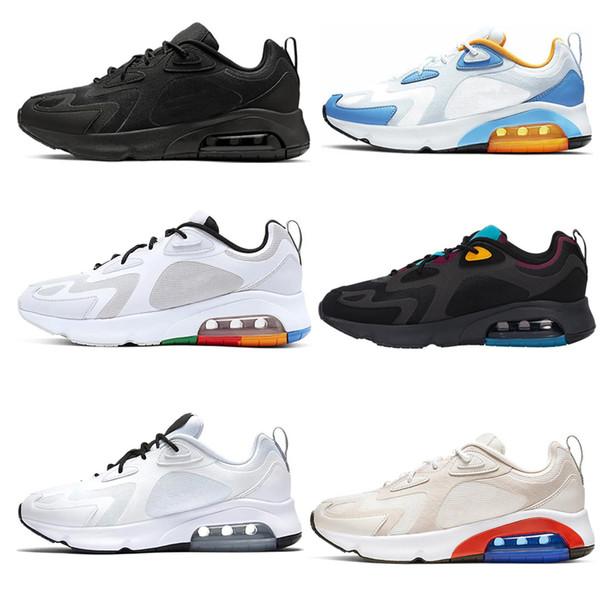 Koşu Ayakkabıları 200 200 s Kadınlar Bordo Mistik Yeşil Üçlü Siyah Beyaz Parlak Crimson Geniş Gri Erkek Eğitmenler Spor Sneakers 36-45