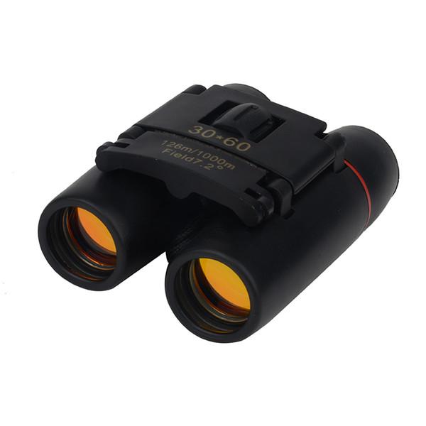 30x60 Zoom Camping Hunting Day Night Vision Binoculars Travel Telescope 126m-1000m Folding Bag T190627
